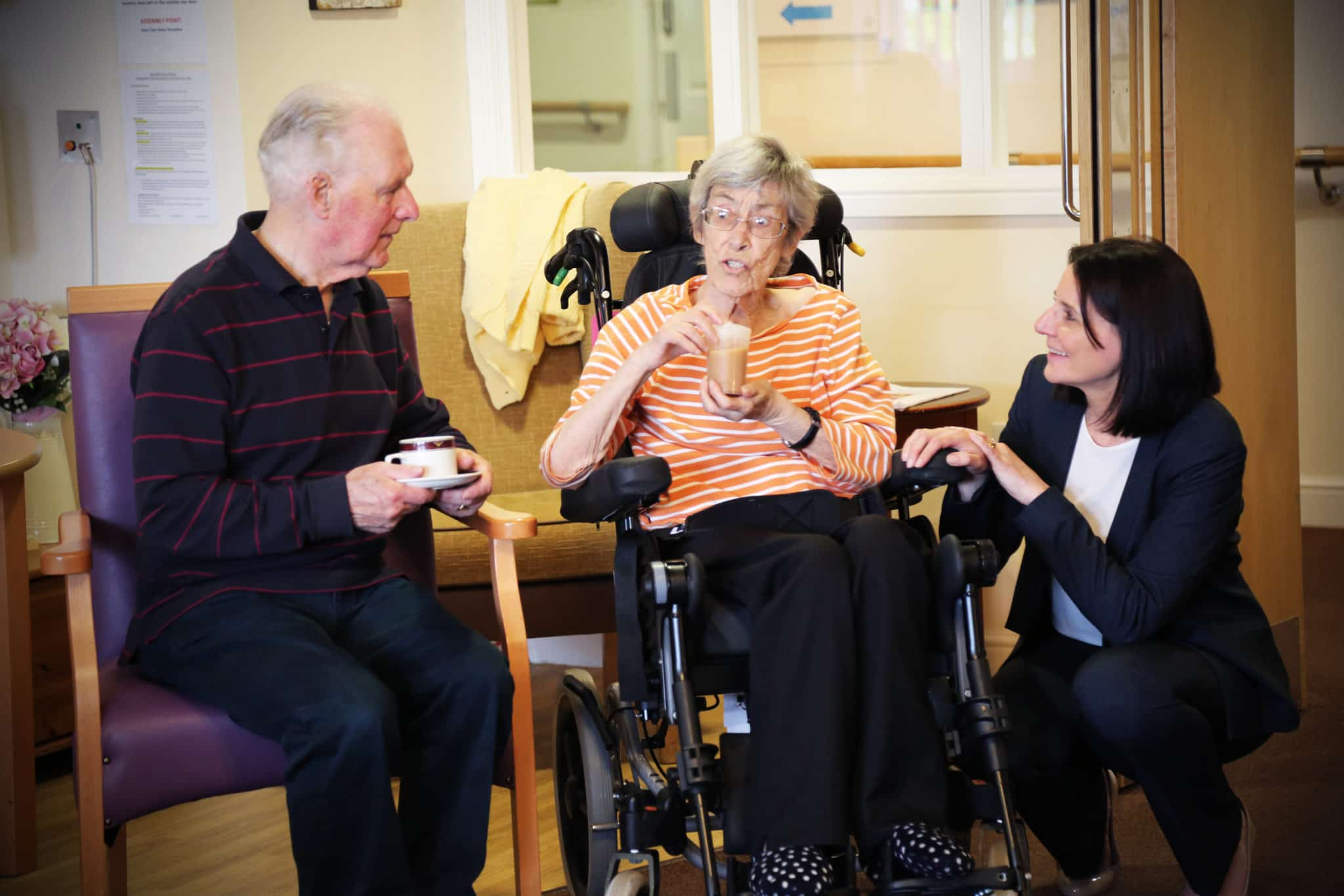 Springhill Care home residents