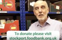 Nigel Tedford of Stockport Foodbank