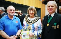 Chris Walkden, Councillor Linda Holt
